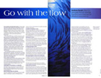 Practising in Flow in - The Strad, Juli 2003. Internationales Streichermagazin - Go with the Flow