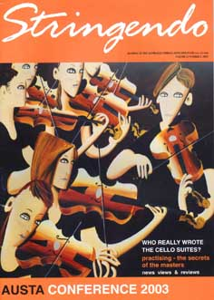 Australien - Stringendo, September 2002 - Magazin der Australian Strings Association (AUSTA)